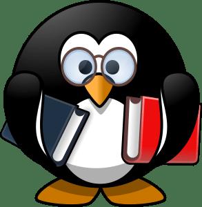 https://openclipart.org/detail/174860/bookworm-penguin